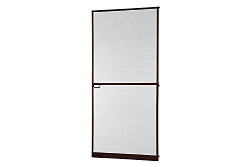 empasa Insektenschutz Tür Master Slim + 100 x 210 cm mit Alurahmen in Weiß, Anthrazit oder Braun, Fliegengittertür in den Varianten Bausatz, auf Maß zugeschnitten und komplett aufgebaut