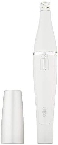Braun FaceSpa SE800 Gesichtsepilierer - Silber/Weiß