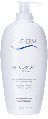 Biotherm Lait Corporel Anti-Dessechant Körperlotion für Frauen, 1er Pack (1 x 400 ml)