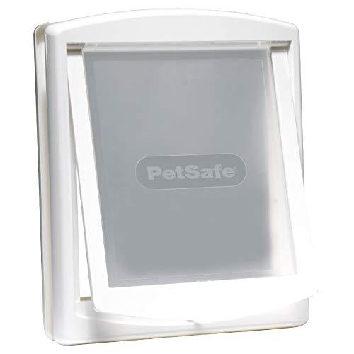 PetSafe Staywell Haustierklappe, große Katzenklappe, mittlere Hundeklappe, 2 Verschlussoptionen, Einfache Installation, Original 2-Wege-Haustiertür, Verschiedene Größen und Farben