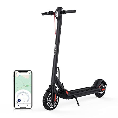 E-Scooter mit Straßenzulassung-Electric Scooter ErwachseneFaltbarer, 350W Motor, 3 Geschwindigkeiten, Elektro Scooter 36V/7.5A Lithiumbatterie, APP-Steuerung über Bluetooth, Max Belastung 120 kg
