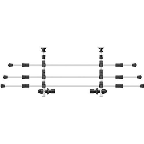 Trixie 13171 Auto-Gitter, Breite: 96–163 cm Höhe: 34–48 cm, silber/schwarz