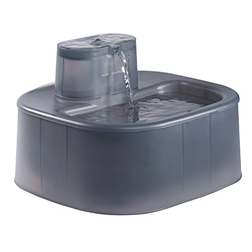 honeyguaridan 6L Automatischer Hunde & Katzen Trinkbrunnen mit 30dB ultraleise Wasserpumpe, Haustier Wasserspender für mittlere und große Hunde und mehrere Haustiere