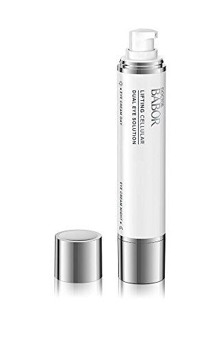 DOCTOR BABOR Dual Eye Solution, Anti-Aging Augenpflege Duo für Tag und Nacht, Lifting Cellular zum Straffen und Regenerieren, Vegane Formel, 2 x 15 ml