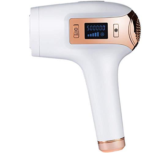 Wheey IPL Haarentfernungs-System, dauerhafte Haarentfernung Gerät für Gesicht und Körper Home Use, 500.000 Blitze, Kühlen mit EIS Compress Funktionen, IPL-Haarentfernung Epilierer