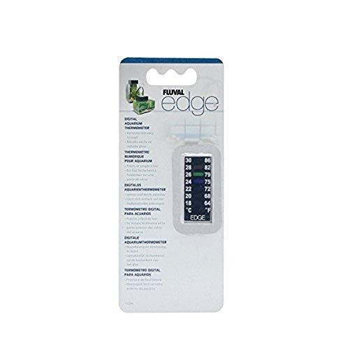 Fluval Edge Digitales Aquarium-Thermometer-18° C bis 30° Celsius (64°bis 86° F)
