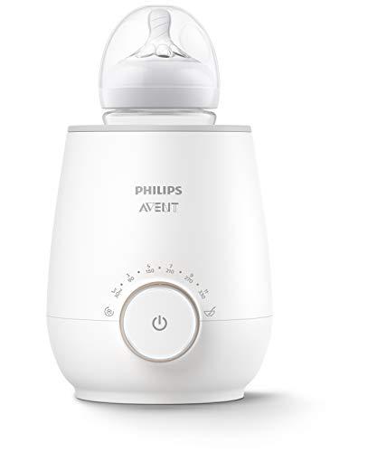 Philips AVENT SCF358/00 Flaschenwärmer für schnelles und gleichmäßiges Erwärmen von Milch & Babynahrung, weiß
