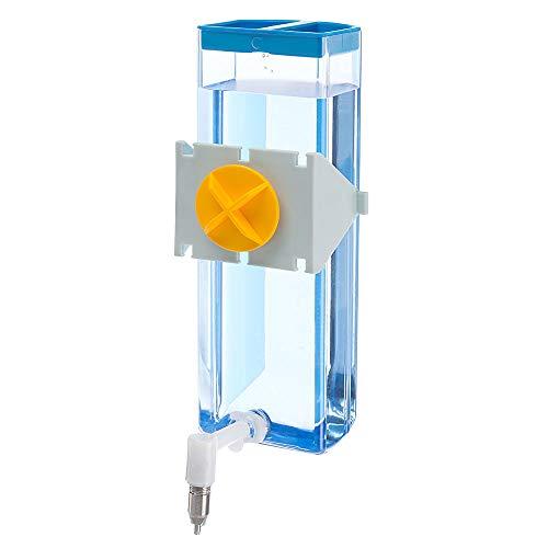 Ferplast 84676070 Nager-Trinkautomat, Befestigung am Gitter ohne glatten Oberflächen, Sippy 4672 large, 600 ml