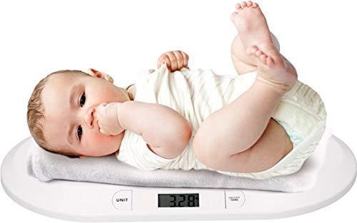 GRUNDIG Babywaage   Digitale Kinderwaage bis 20Kg   Digitalwaage für Neugeborene   digitale LED Anzeige   Gewichtskontrolle ab Geburt   LCD Display   Tara-Funktion   automatische Abschaltung
