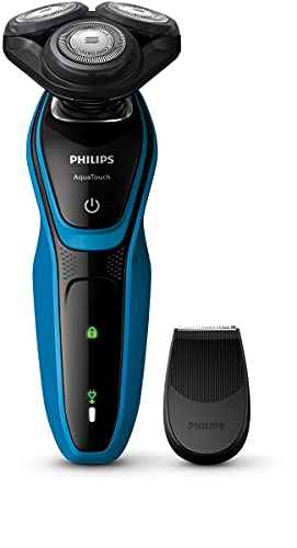 Philips S5050/04 - Philips Aquatouch S5050/04 Rotationsrasierer schwarz blau