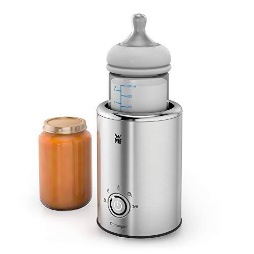WMF Lono Babykost- und Flaschenwärmer, Cromargan, 5 Funktionsprogramme, Flaschen-Durchmesser bis zu 72mm, 140 W