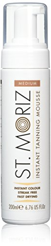 St. Moriz Self Tanning Mousse Medium, 1er Pack (1 x 200 ml)