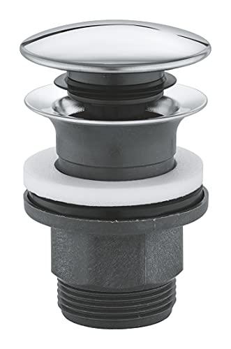 GROHE   Zubehör - Ablaufgarnitur mit Druckstopfen   chrom   40824000