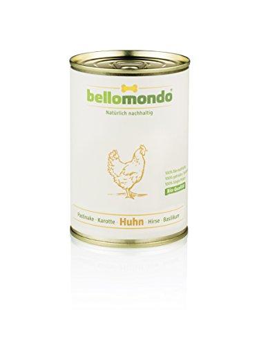 bellomondo Bio-Hundefutter (Huhn, 400g)