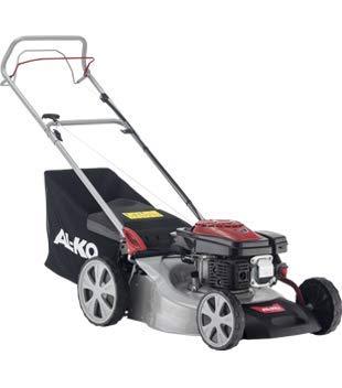 AL-KO Benzin-Rasenmäher Easy 4.60 SP-S (46 cm Schnittbreite, 2.0 kW Motorleistung, zentrale Schnitthöhenverstellung, Robustes Stahlblechgehäuse, mit Hinterrad-Antrieb, für Rasenflächen bis 1400 m²)