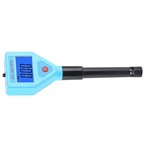 Oumefar Leitfähigkeitsmessgerät Leicht zu tragender Aquarium-Wassertester EC-98303 Wasserqualitätstester Digital Tragbar zum Testen von Wasserschwimmbädern