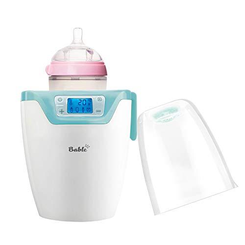 Bable Flaschenwärmer丨Sterilisator für Babyflaschen丨Babykostwärmer丨Multifunktionale Baby Flaschenwärmer mit Ernährungsschutz-Technologie (Schnell)