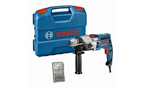 Bosch Professional Schlagbohrmaschine GSB 20-2 (850 Watt, Leerlaufdrehzahl 3.000 min-1, mit Zubehörset, in L-Case)