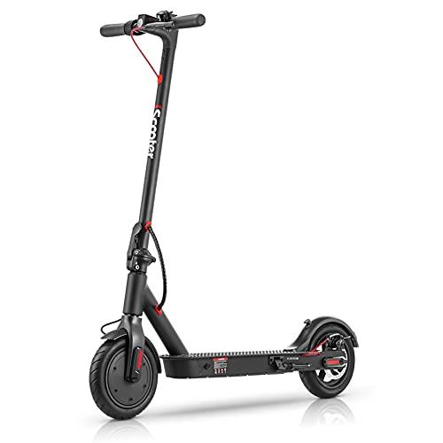 E Scooter 25 km/h, Elektroroller für Erwachsene Last 120kg , 350W Motor | bis zu 25km Reichweite | 7.8AH Batterie | 8,5 Zoll Luftreifen Faltbarer e-Roller für Erwachsene und Jugendliche