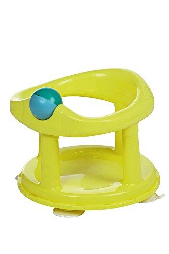 Safety 1st 360° drehbarer Badesitz, ergonomischer Sitz für die Badewanne mit Rollball und 4 Saugnäpfen, nutzbar ab ca. 6 Monaten bis max. 10 kg, lime