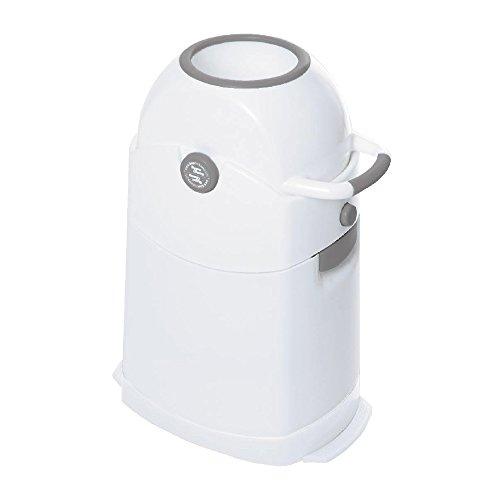 Geruchsdichter Windeleimer Diaper Champ regular silber - für normale Müllbeutel