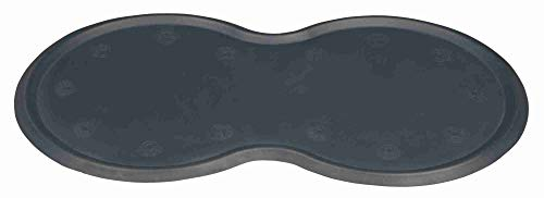 Trixie 24561 Napfunterlage, Naturgummi, 45 × 25 cm, dunkelgrau