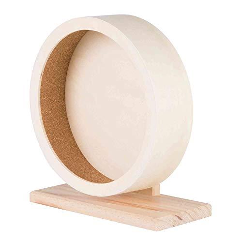 Trixie 60922 Holzlaufrad Maße:21 cm (Durchmesser)
