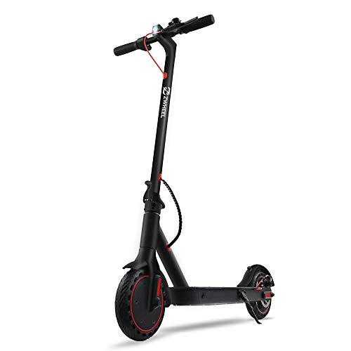 ZWHHEL Elektroscooter E9 Basic, E-Scooter für Erwachsene, klappbar, Motor 300W, Anti-Rutsch-Reifen 8,5 Zoll, 25KM/h, Mobile App