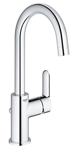 GROHE BauEdge   Badarmaturen - Einhand-Waschtischbatterie   DN 15   L-Size   chrom   23760000