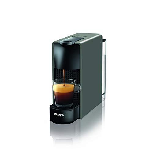 Krups Nespresso XN1108 Essenza Mini Kaffeekapselmaschine   1260 Watt   Sehr kompakt   0,6 Liter Wassertank   19 bar   Schwarz