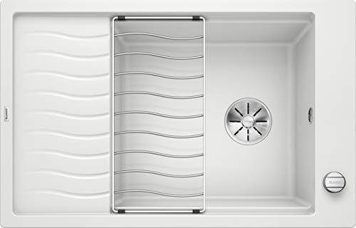Blanco 524838 Elon XL 6 S Küchenspüle, weiß, 60 cm Unterschrank
