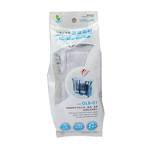 ACHICOO XP-09/11/13 Ersatz Biochemischer Wattebausch-Reiniger Filterwatte für Aquarium-Außenfilter für Heimtierbedarf