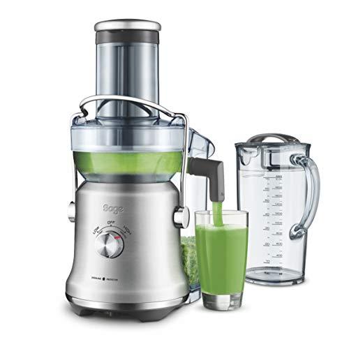 Sage Appliances SAGE SJE530 the Nutri Juicer Cold Plus, Entsafter, Gebürstetes Edelstahl