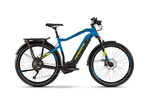 HAIBIKE Sduro Trekking 9.0 Pedelec E-Bike Fahrrad schwarz/blau/gelb 2019: Größe: L