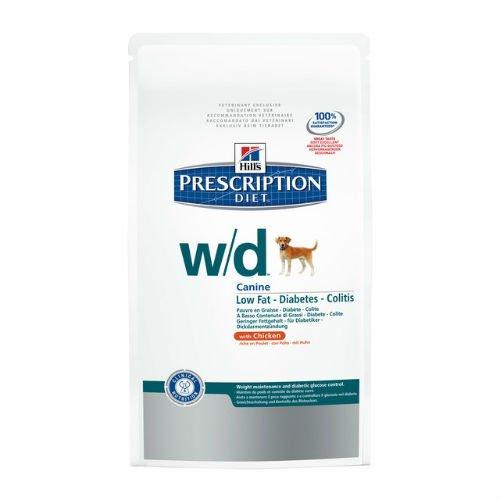 Hills VET Diet Canine w/d, 1er Pack (1 x 12 kg)