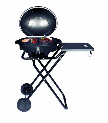 SUNTEC elektrischer Standgrill BBQ-9493 [Auch als Tischgrill geeignet, inkl. Saucenhalter, regelbarer Thermostat, max. 2400 Watt]