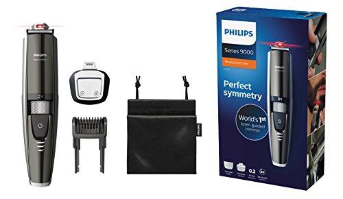 Philips BT9297/15 Bartschneider Series 9000 (mit Laser Guide für präzises Trimmen, 17 Längeneinstellungen)