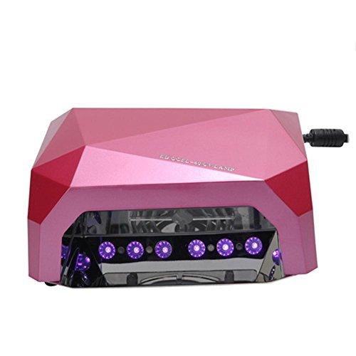 KDLD LED-Nageltrockner ® Professionelle hohe qualität Presets und Auto Shutoff 36 Watt LED Nagel Lampe 3-fach schalter (10 S 30 S 60 S)