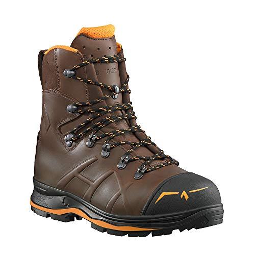 Haix Trekker Mountain 2.0 Der beliebte Schnittschutzstiefel mit orangen Farbakzenten. 45