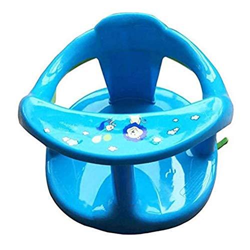 ruixin Baby-Badewannensitz zum Sitzen im Bad mit Rückenlehne Und Saugnäpfen