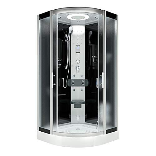 AcquaVapore DTP8046-0312 Dusche Dampfdusche Duschtempel Duschkabine 80x80 OHNE 2K Scheiben Versiegelung