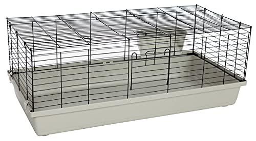 PETGARD Kaninchenstall und Meerschweinchenkäfig, großes Gehege auch für andere mittelgroße Nager geeignet, 119x59x46 cm, Sammy 120