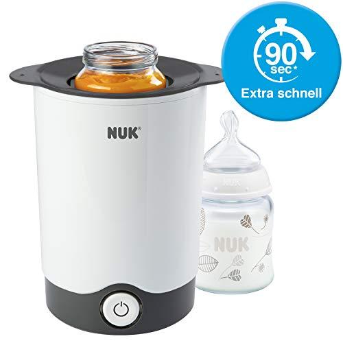 NUK Thermo Express Flaschenwärmer, besonders schnelles und schonendes Erwärmen in nur 90 Sekunden, für Gläschen und Flaschen