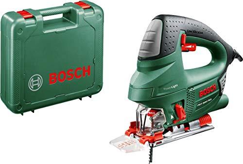 Bosch Stichsäge PST 900 PEL (620W, Hubzahl bei Leerlauf 500 bis 3100 U/min, in Kunststoffkoffer)