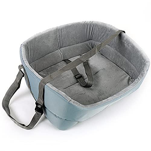 NIBESSER Hunde Autositz Waschbar Autositz und Bett für Hunde Stabile Wasserfest Hundebett Universal Hundeautositz für Rück- und Vordersitz