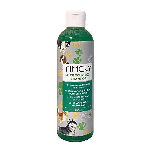 Timely Aloe-Hundeshampoo, sanft für geschmeidiges Fell, 250 ml