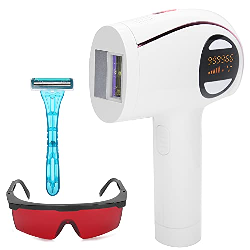 IPL-Haarentfernung für Frauen und Männer, Kühlend IPL-Haarentfernungsblitze Einstellbares Haarentfernungsgerät für Achsellippen Zur Ganzkörperanwendung 110‑240V(EU)