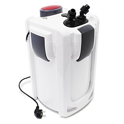 SunSun HW-703B Aquariumaußenfilter 1400 L/h 30 W mit 9 W UVC und 3 Stufen Filter Aquarium