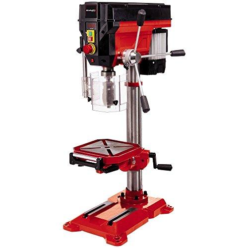 Einhell Säulenbohrmaschine TE-BD 750 E (750 W, 450 - 2500 min-1, stufenlose Drehzahlregulierung, Schnellspannbohrfutter für Bohrer 1-16 mm, MK2-Aufnahme, höhenverstell-, neig- und drehbarer Bohrtisch)