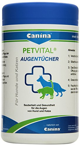 Canina 74103 8 Petvital Augentücher